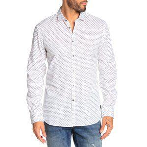 John Varvatos Clayton Printed Button Down Shirt